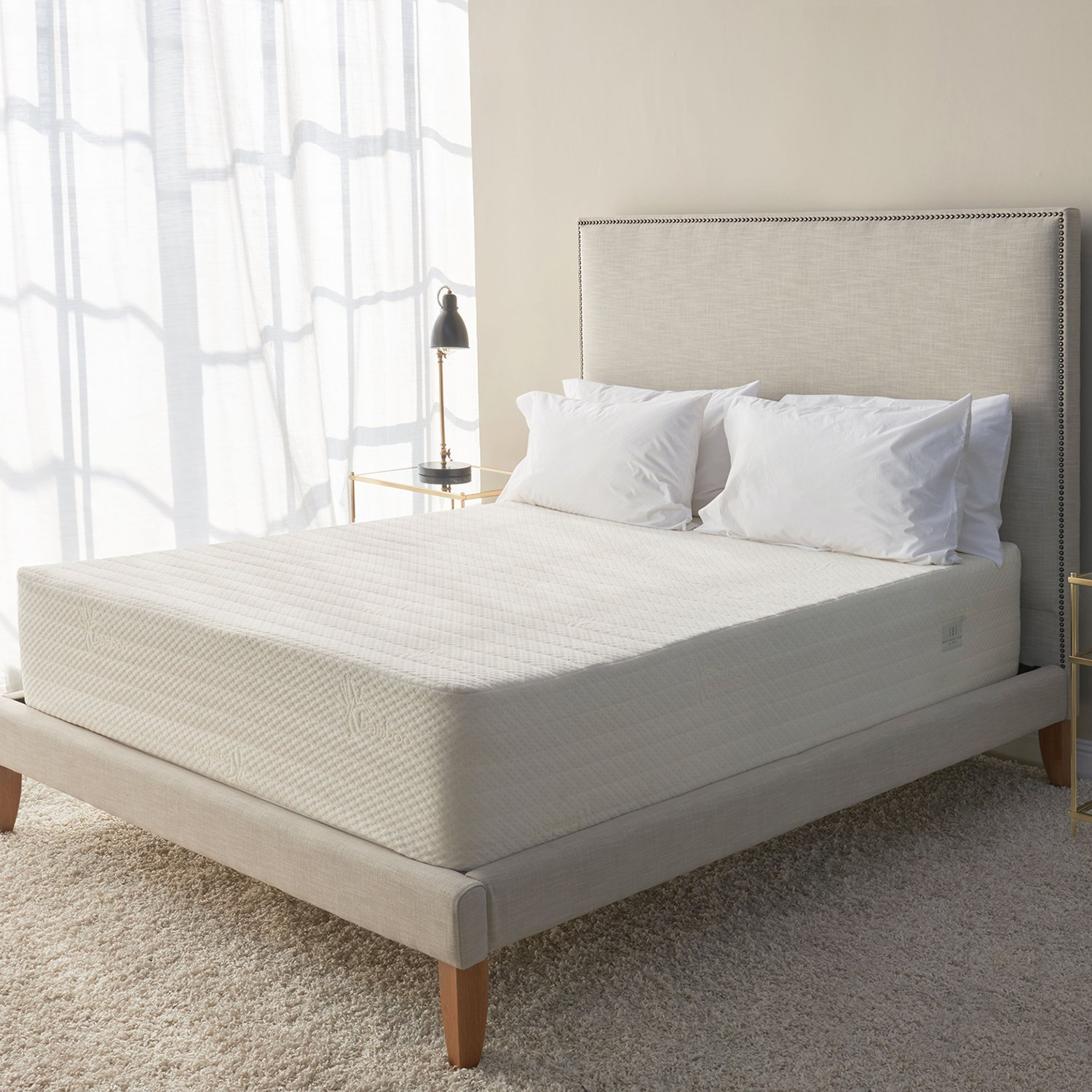 brentwood home bamboo gel memory foam mattress - Best Foam Mattress
