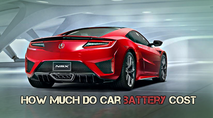 how much do car battery cost