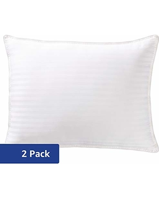 Amazon Basics Hotel-Style Down-Alternative Pillows