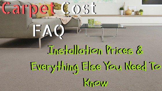 Carpet Cost FAQ