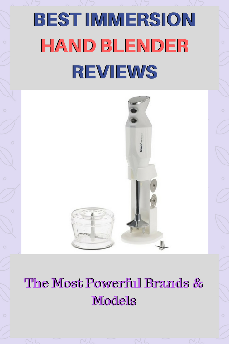 Best Immersion Hand Blender Reviews