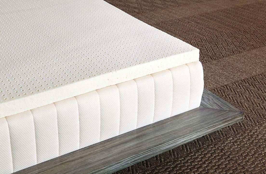 "Sleep On Latex Pure Green Natural Latex Mattress Topper (3"") firm"
