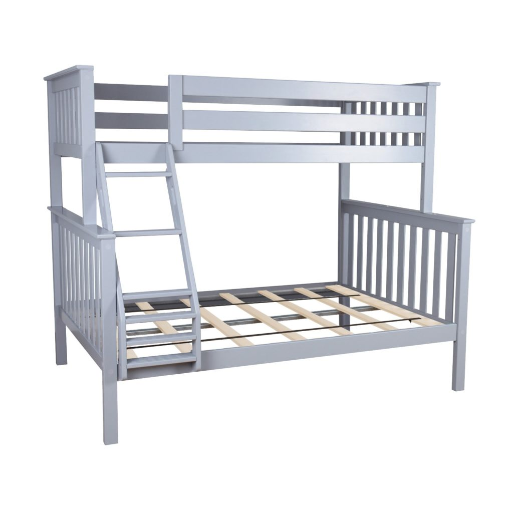 Max & Lily Solid Wood Twin Over Full Bunk Bed