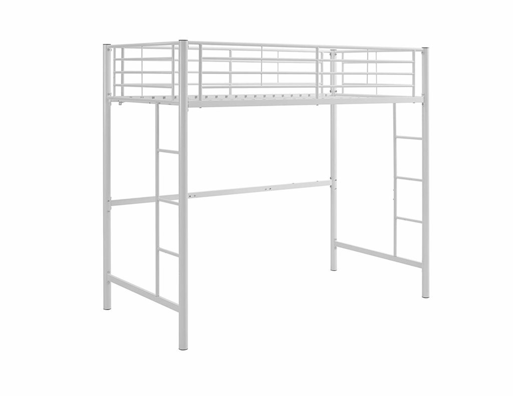 Walker Edison Furniture Company Metal Loft Bed