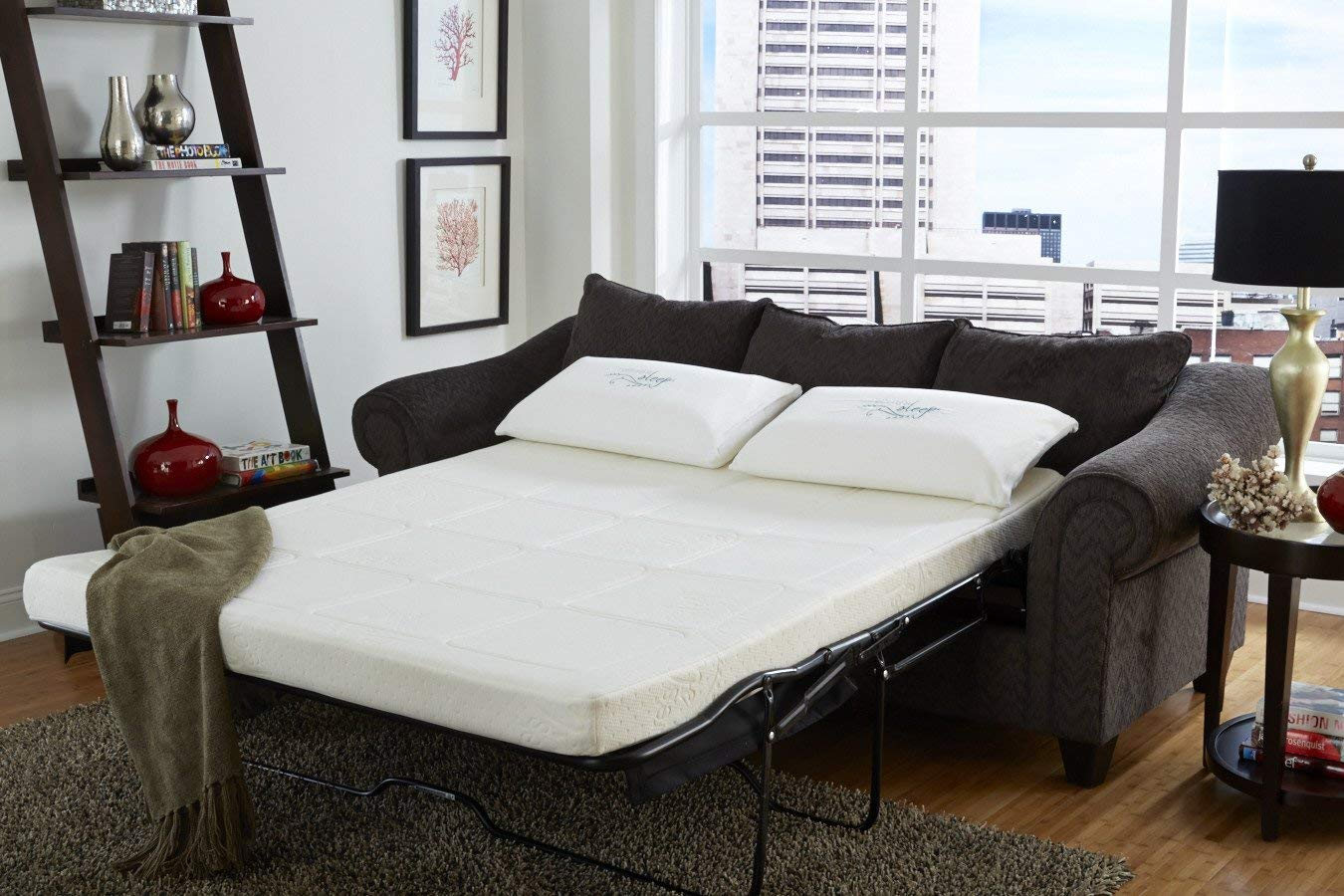 Nature's Sleep Gel Memory Foam Sofa Sleeper Mattress