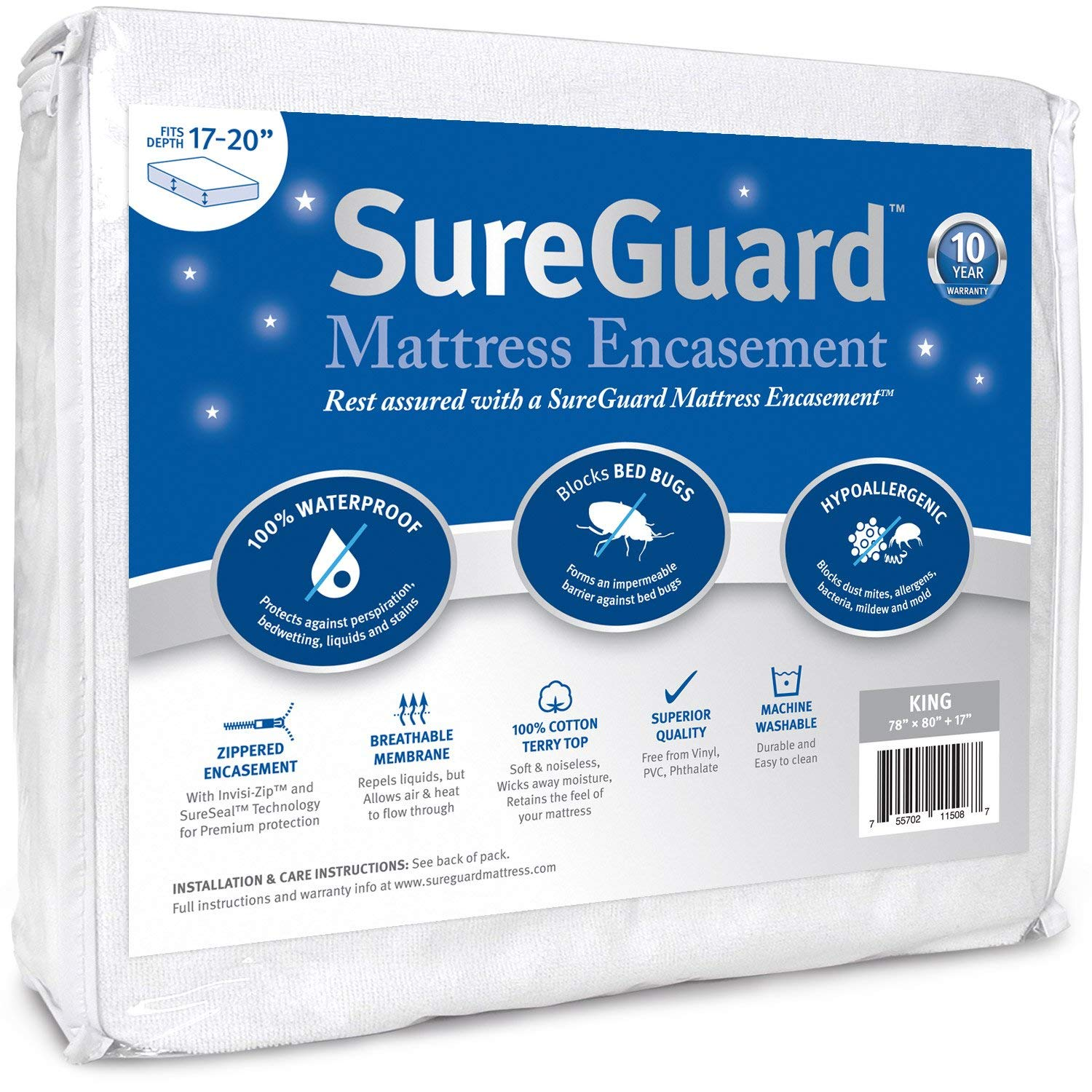 SureGuard Mattress Encasement