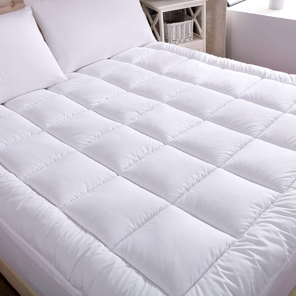 WhatsBedding Waterproof Mattress Pad